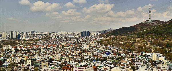 Seoul and the N Tower Featured (Navjot Singh)