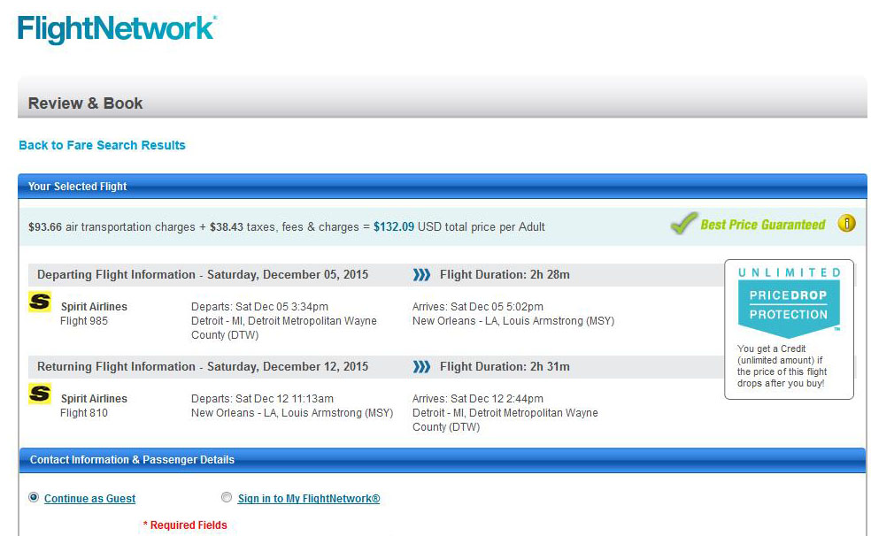 Detroit to miami flight deals