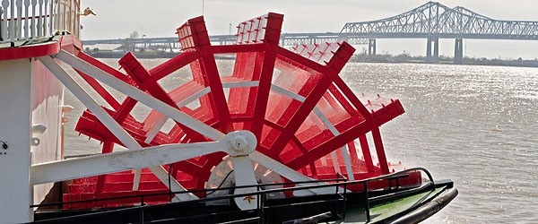 Riverboat Paddle Wheel, New Orleans Featured (Shutterstock.com)