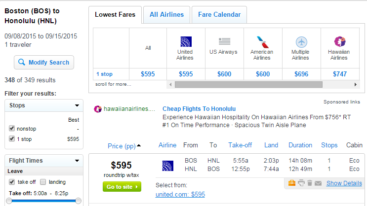 595 600 Boston To Honolulu Incl Thanksgiving R T Fly Com Travel Blog