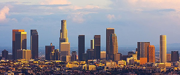 Los Angeles Downtown at Sunset Featured (Shutterstock.com)