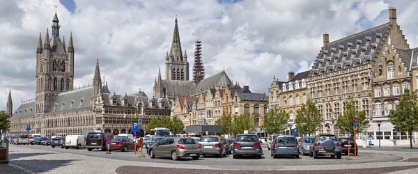 Grote Markt Square in Ypres, Belgium Featured (Shutterstock.com)