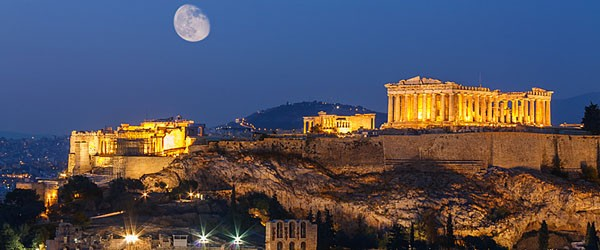 Parthenon and Herodium in Acropolis Hill, Athens Featured (Shutterstock.com)