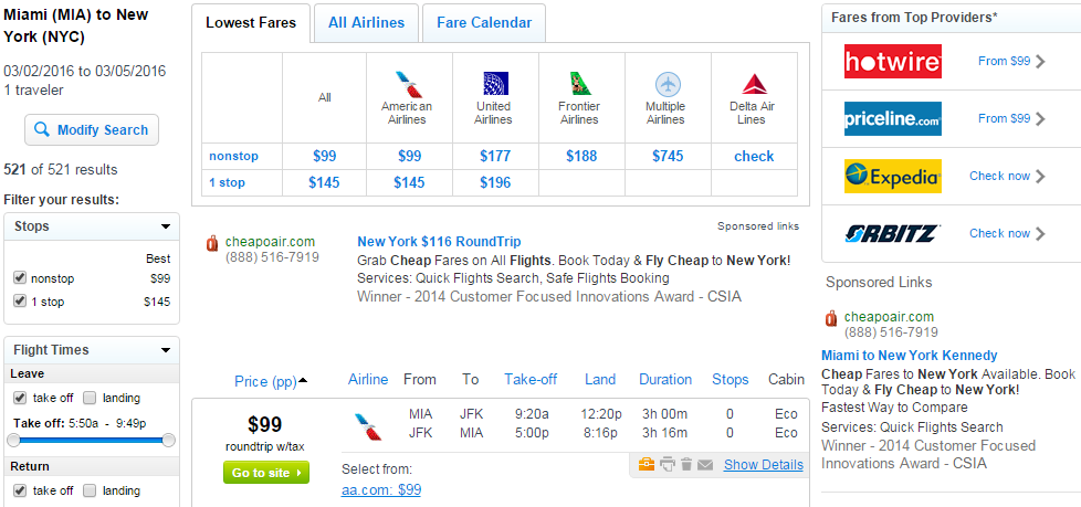 Last minute flight deals next weekend