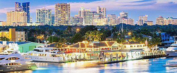 Fort Lauderdale at Night Featured (Travelzoo)
