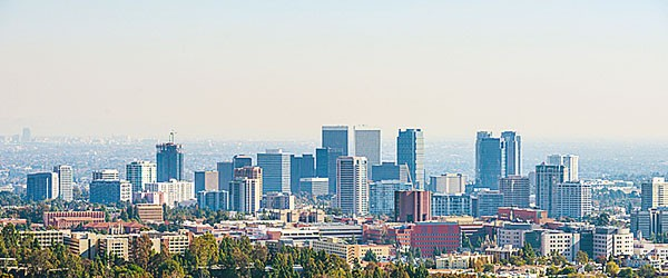 Downtown Los Angeles Skyline Featured (Shutterstock.com)