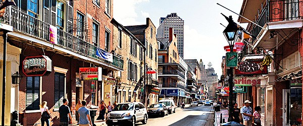 Bourbon Street, New Orleans Featured (Travelzoo)