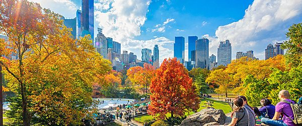 Central Park Fall, New York City (Travelzoo)