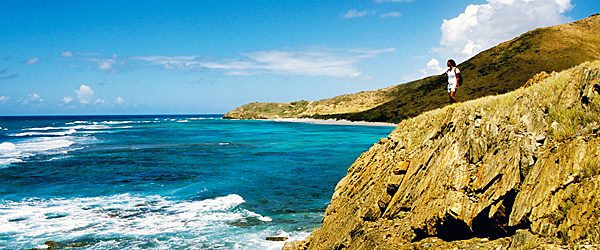 Point Udall, the eastern most point in the U.S., St. Croix (Travelzoo)