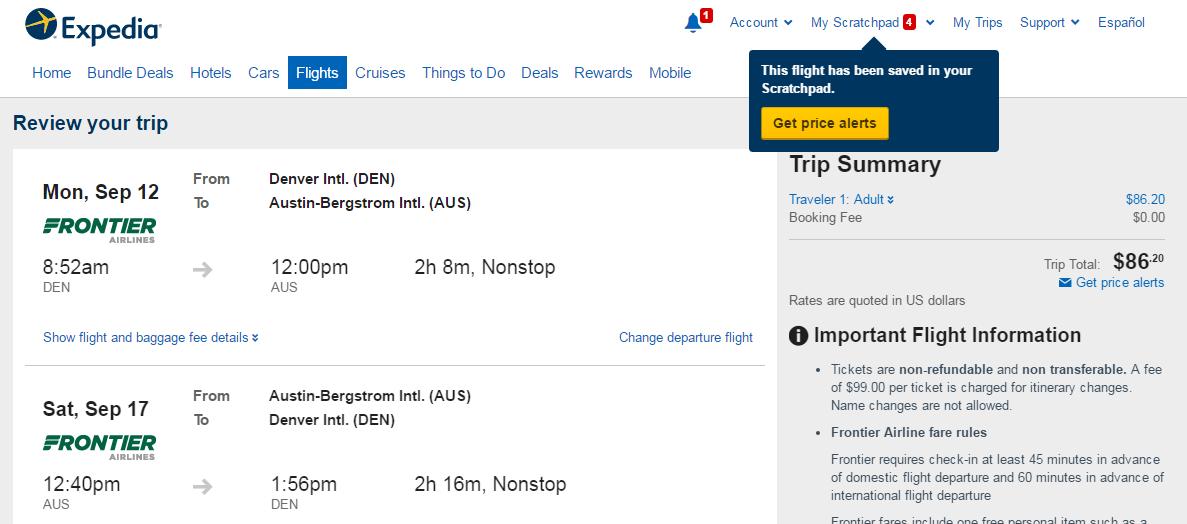 Best Travel Route Austin To Denver