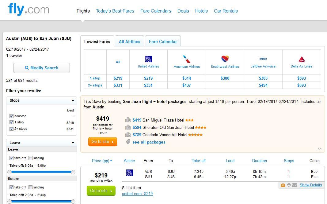 Sju flight deals